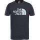 The North Face Kids Easy Tee S/S Tee TNF Dark Grey Heather/High Rise Grey